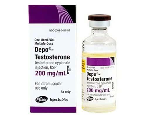 Testosterone depo
