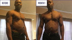 Ian Johanson Befor and after using TestoFuel