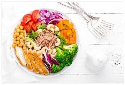 properly balanced diet